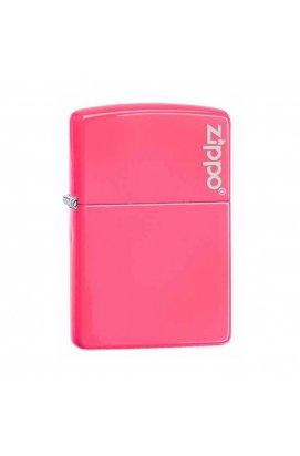Зажигалка Zippo Classics Neon Pink w/Zippo Logo Zp28886zl, США