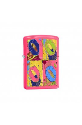Зажигалка Zippo Classics Pop Lips Neon Pink Zp29086, США