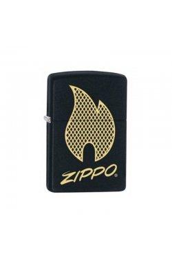 Зажигалка Zippo 29686 - 218 PF18 Zippo Script Logo Design Zp29686