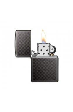 Зажигалка Zippo Classics Iced Carbon Fiber Design Gray Dusk Zp29823