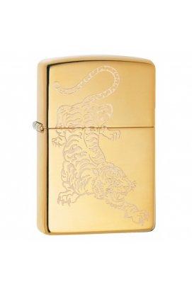 Зажигалка Zippo Classics Tatoo Tiger High Polish Brass Zp29884, США