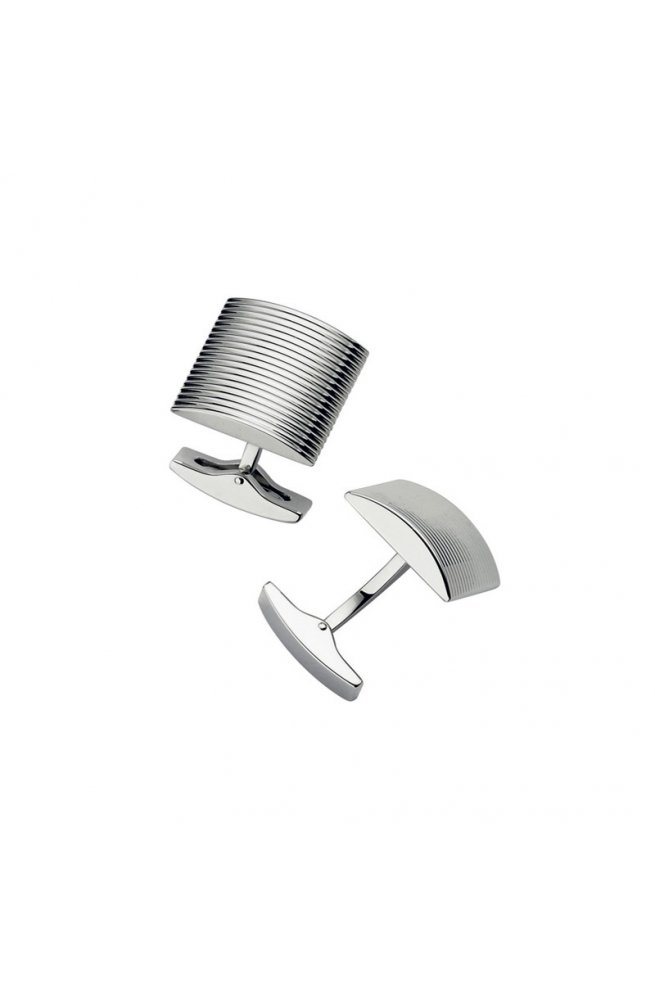 Запонки ST Dupont Curved Stripes Du5174
