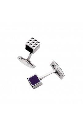 Запонки ST Dupont Black & Purple Laque Du5249Франция