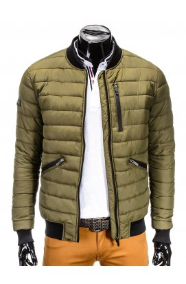 MEN'S PID-SEASON QUILTED BOMBER Куртка мужская K321 - OLIVE