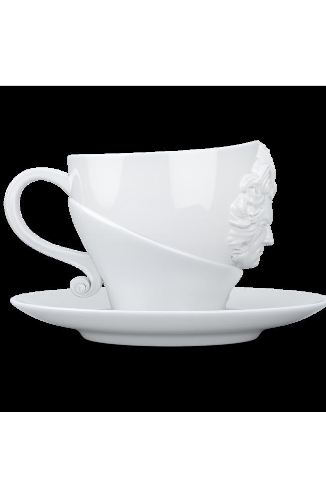 Чашка с блюдцем Ludwig van Beethoven