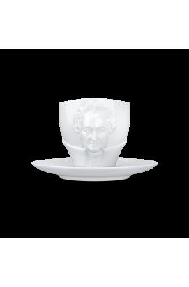 Чашка с блюдцем Johann Wolfgang von Goethe