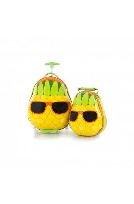 Набор Чемодан на 2 колесах + Рюкзак Heys TRAVEL TOTS/Pineapple He13030-3198-00, Канада