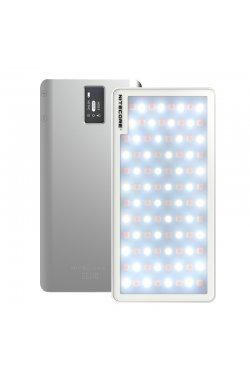 2в1 - Свет накамерный + Power Bank Nitecore SCL10 (96xLED, 800 люмен, 3 реж., регулировка яркости,USB)