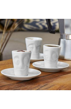 "Espresso чашка с ручкой Tassen ""Проказник"" (80 мл), фарфор - wos6660"