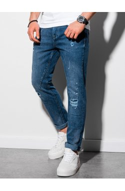 Мужские джинсовые штаны P935 - синий - Ombre