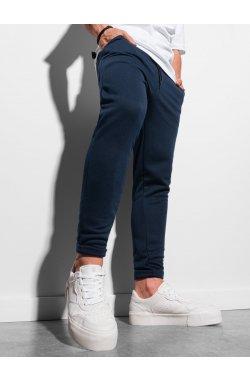Мужские спортивные штаны P949 - темно-синий - Ombre