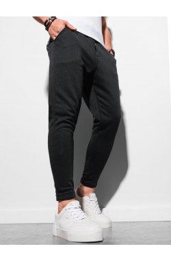 Мужские спортивные штаны P949 - чёрный - Ombre