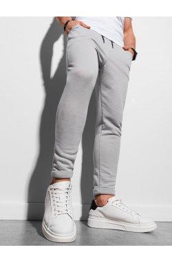 Мужские спортивные штаны P949 - светло-серый - Ombre