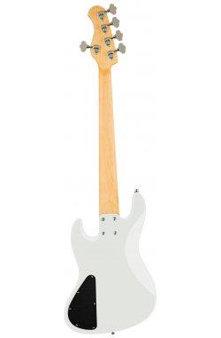 Бас-гитара SADOWSKY MetroExpress 21-Fret Vintage J/J Bass, Morado, 5-String (Solid Olympic White High Polish)