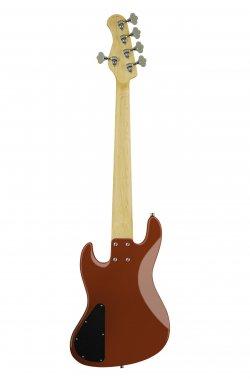 Бас-гитара SADOWSKY MetroExpress 21-Fret Hybrid P/J Bass, Morado, 5-String (Candy Apple Red Metallic)