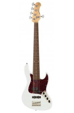 Бас-гитара SADOWSKY MetroExpress 21-Fret Hybrid P/J Bass, Morado, 5-String (Olympic White High Polish)