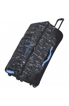 Дорожная сумка на колесах Travelite BASICS/Black Print TL096338-02, Германия