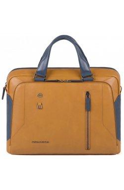 Портфель Piquadro HAKONE/Tobacco-Blue CA3335S104_CUBL
