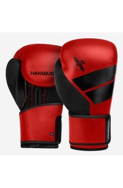 Боксерские перчатки Hayabusa  4 - Красные, 14oz (Original)  , Кожа