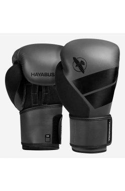 Боксерские перчатки Hayabusa  4 - Серые14oz (Original)  , Кожа