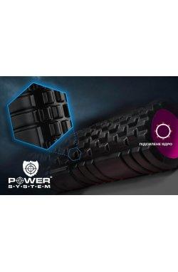 Массажный ролик Power  ystem Fitness Foam Roller P -4050 Pink