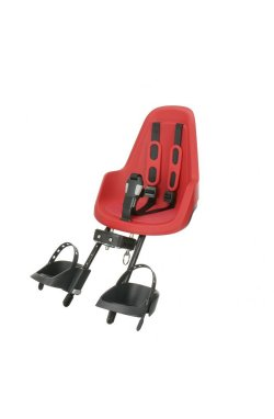 Детское велокресло Bobike ONE mini / Strawberry red