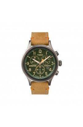 Мужские часы Timex EXPEDITION Scout Chrono Tx4b04400, Циферблат - Зелёный, США