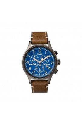 Мужские наручные часы Timex EXPEDITION Scout Chrono Tx4b09000, Циферблат - Синий, США