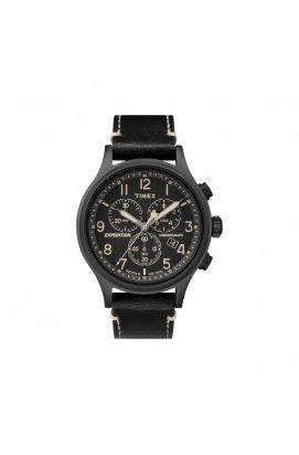 Мужские часы Timex EXPEDITION Scout Chrono Tx4b09100, Циферблат - Чёрный, США