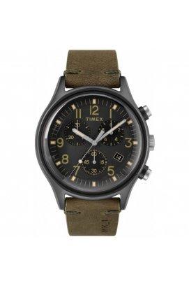 Мужские часы Timex MK1 Chrono Tx2r96600, Циферблат - Чёрный, Корпус - Серый, США