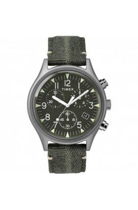Мужские наручные часы Timex MK1 Chrono Tx2r68600, Циферблат - Зелёный, США