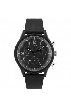 Мужские наручные часы Timex MK1 Chrono Supernova Tx2t29500, Циферблат - Чёрный, Корпус - Черный, США