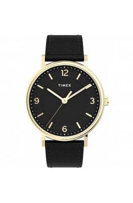 Мужские часы Timex SOUTHVIEW Tx2u67600, Циферблат - Чёрный, Корпус - Золотистый, США
