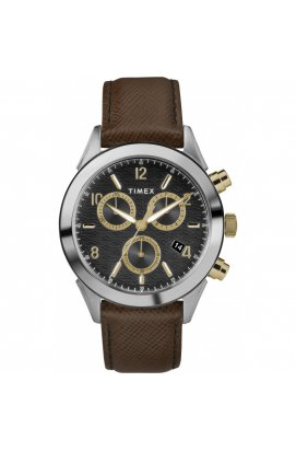 Мужские часы Timex TORRINGTON Chrono Tx2r90800, Циферблат - Чёрный, США