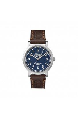 Мужские часы Timex ORIGINALS University Tx2p96600, Циферблат - Синий, США