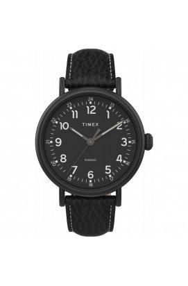 Мужские часы Timex STANDARD XL Tx2t91000, Циферблат - Чёрный, Корпус - Черный, США