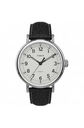 Мужские часы Timex STANDARD XL Tx2t90900, Циферблат - Белый, Корпус - Сталь, США