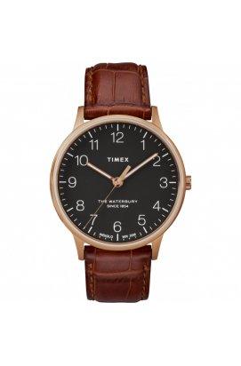 Мужские часы Timex WATERBURY Tx2r71400, Циферблат - Чёрный, США