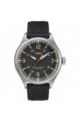 Мужские часы Timex Waterbury Tx2r38500, Циферблат - Чёрный, США