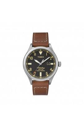 Мужские часы Timex WATERBURY Tx2p84000, Циферблат - Чёрный, Корпус - Сталь, США