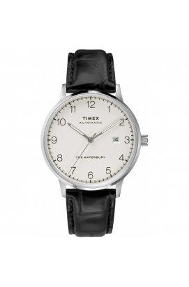 Мужские часы Timex WATERBURY Automatic Tx2t69900, Циферблат - Белый, Корпус - Сталь, США