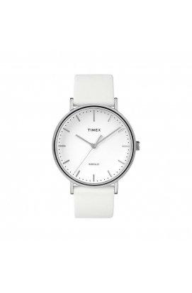 Мужские наручные часы Timex FAIRFIELD Tx2r26100, Циферблат - Белый, Корпус - Сталь, США