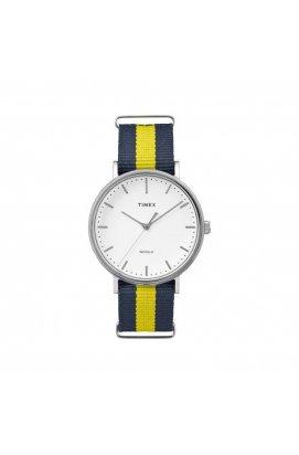 Мужские часы Timex FAIRFIELD Tx2p90900, Циферблат - Белый, США