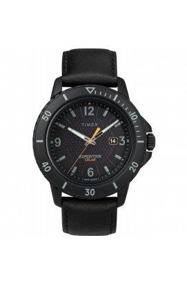 Мужские часы Timex EXPEDITION Gallatin Solar Tx4b14700, Циферблат - Чёрный, Корпус - Черный, США