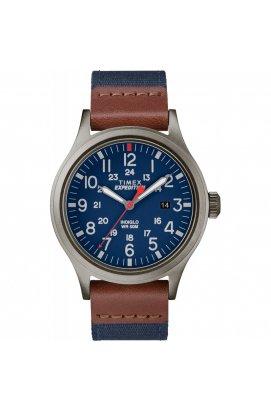 Мужские часы Timex EXPEDITION Scout Tx4b14100, Циферблат - Синий, США