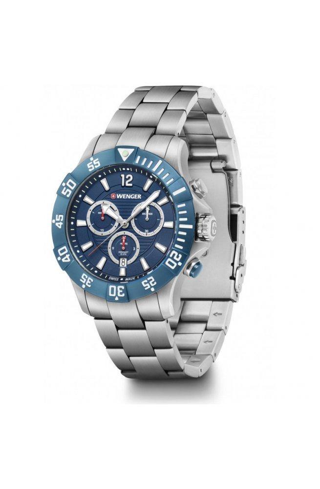Чоловічі годинники Wenger SEAFORCE Chrono W01.0643.119