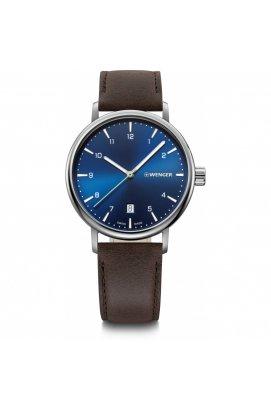 Мужские часы Wenger URBAN CLASSIC W01.1731.116, Циферблат - Синий, Корпус - Сталь, Швейцария