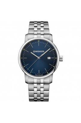 Мужские наручные часы Wenger Watch URBAN CLASSIC W01.1741.123, Циферблат - Синий, Корпус - Сталь, Швейцария