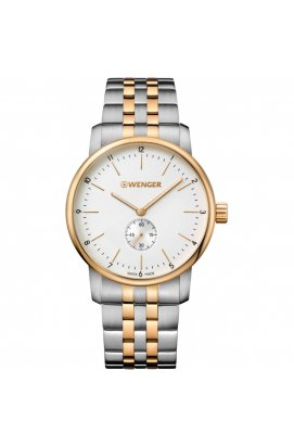 Мужские часы Wenger Watch URBAN CLASSIC Small Sec W01.1741.125, Циферблат - Белый, Швейцария