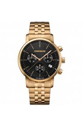 Чоловічі годинники Wenger Watch URBAN CLASSIC Chrono W01.1743.103, Циферблат - Чорний, Швейцарія